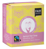 Fair Squared Haarseife Apricot