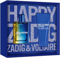 Zadig & Voltaire This is Him! This is Love! Set = E.d.T. Nat. Spray  50 ml + Shower Gel 50 ml