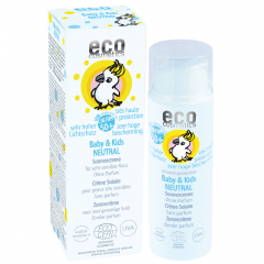 ECO Cosmetics Baby & Kids Sonnencreme LSF 50 neutral