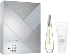 Issey Miyake L'Eau d'Issey Pure Set = E.d.P. Nat. Spray 50 ml + Body Lotion 100 ml
