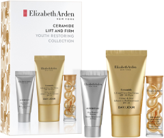 Elizabeth Arden Ceramide Lift and Firm Youth Restoring Solutions Set = Lift and Firming Cream 15 ml  + Superstart Booster 5 ml + Capsules Yeout Restor. Serum 7 st