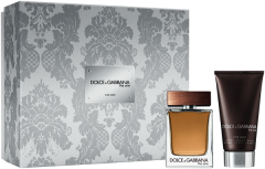 Dolce & Gabbana The One For Men Set  = E.d.T. Nat. Spray  50 ml + After Shave Balm 75