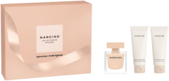 Narciso Rodriguez Narciso Poudrée Set = E.d.P. Nat. Spray 50 ml + Body Lotion 75 ml + Shower Gel 75 ml