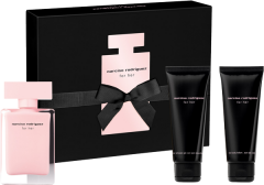 Narciso Rodriguez For Her Set =  E.d.P. Nat. Spray 50 ml + Body Lotion 75 ml + Shower Gel 75 ml