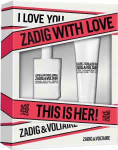 Zadig & Voltaire This is Her! Set = E.d.P. Nat. Spray 30 ml + Body Lotion 75 ml