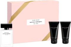 Narciso Rodriguez For Her Pure Musc Set = E.d.P. Nat. Spray 50 ml + Body Lotion 50 ml + Shower Gel 50 ml