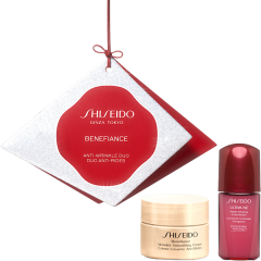 Shiseido Benefiance Set = Wrinkle Smooth.Cream 30 ml + UTM Powder Infus.Concentrate.10 ml